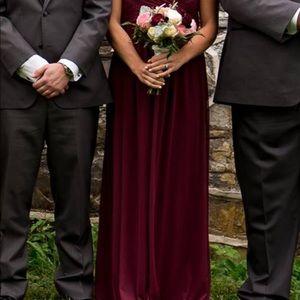 David's Bridal Gown- Bridesmaid
